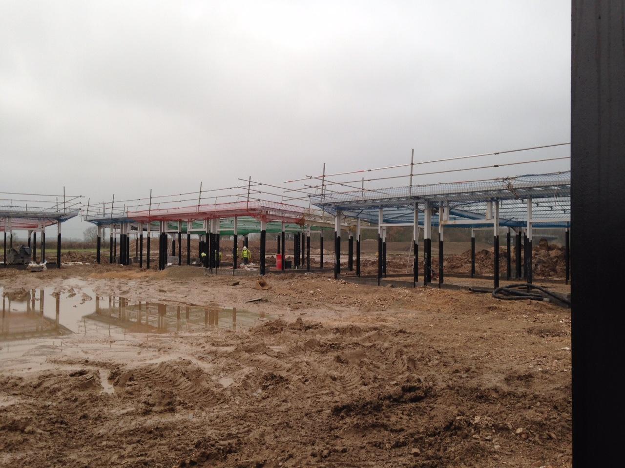 Eco 90 Offices Progress - December 2014