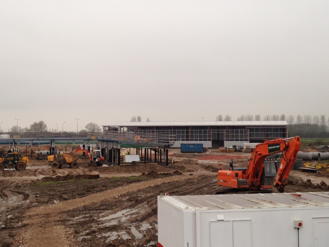 Eco Offices and Eco Industrial 20 Unit Progress - December 2014