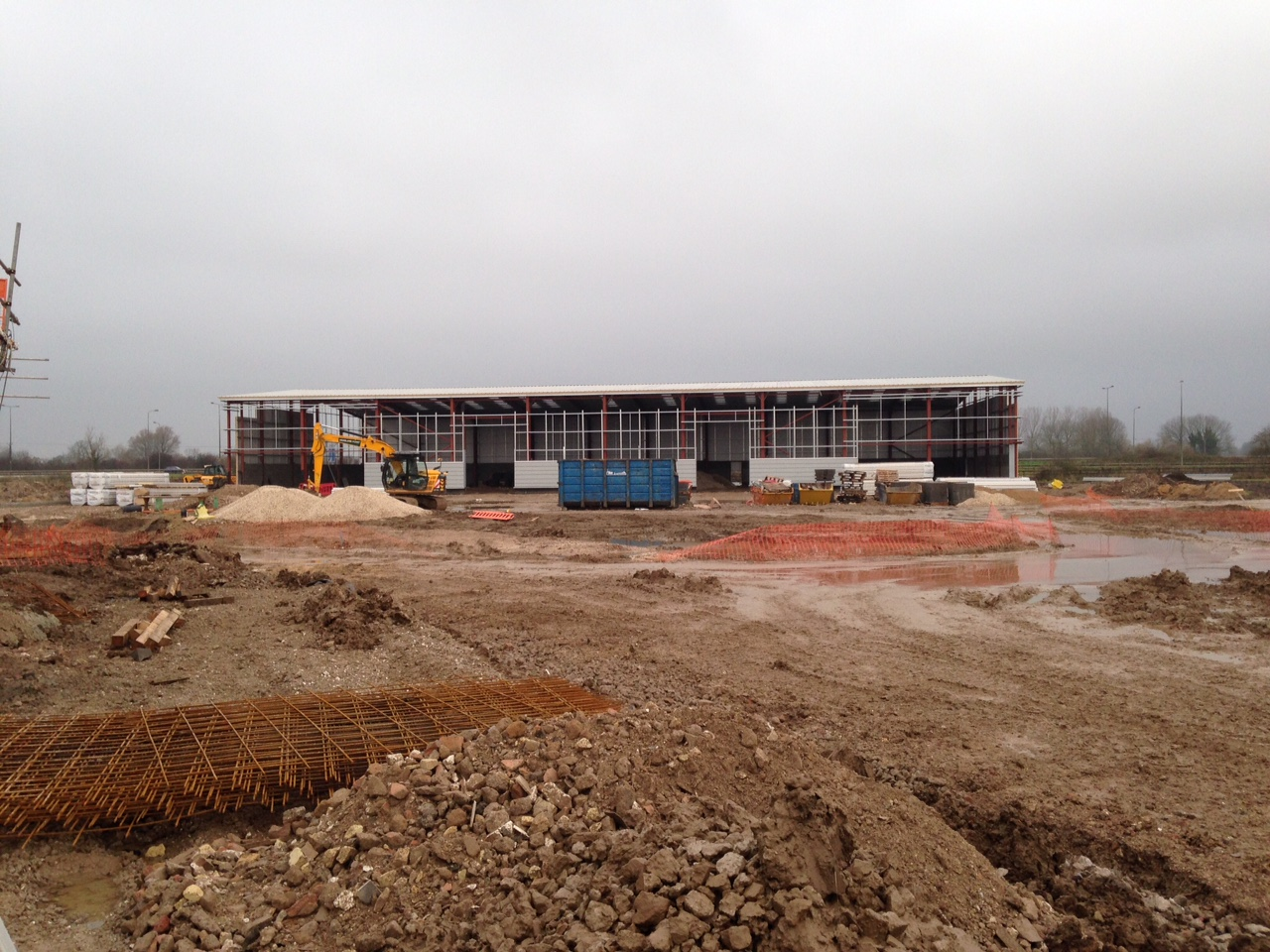 Eco Industrial 20 Unit Progress - December 2014